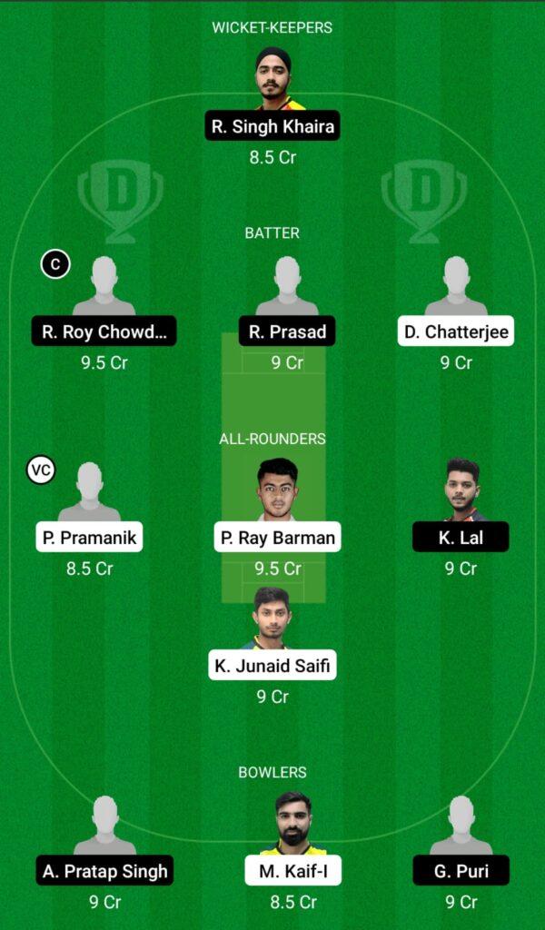 KB vs KH Dream11 Prediction, Fantasy Cricket Tips, Dream11 Team, BYJU'S Bengal T20 2021