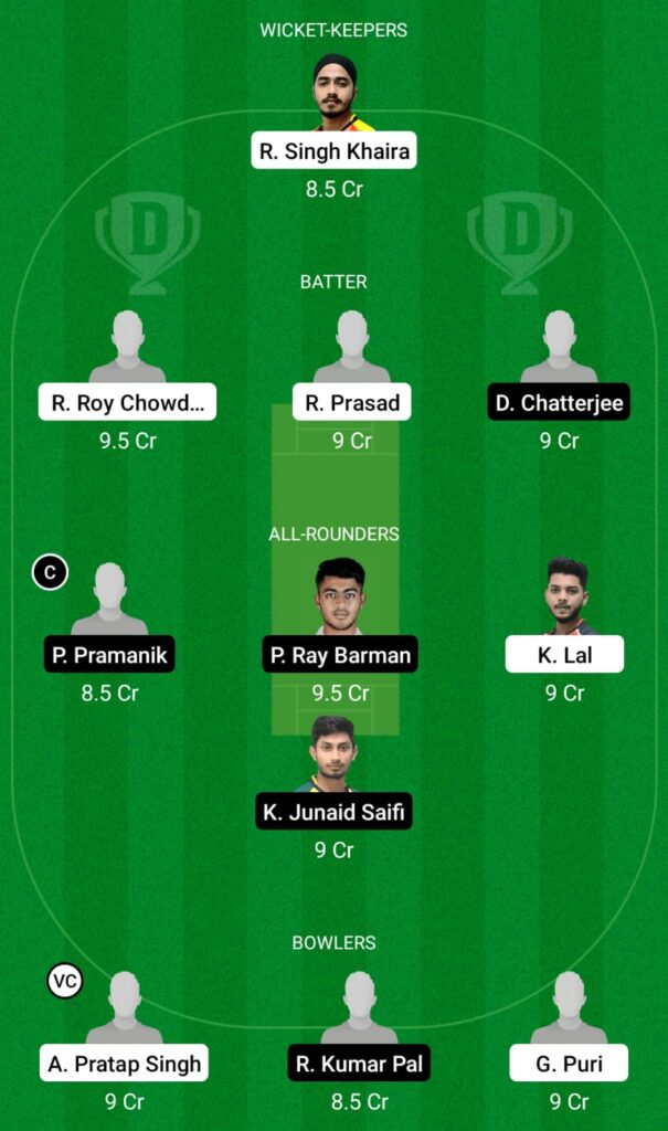 KH vs KB Dream11 Prediction, Fantasy Cricket Tips, Dream11 Team, BYJU'S Bengal T20 2021
