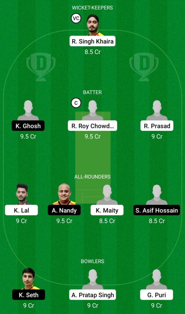 KH vs KC Dream11 Prediction, Fantasy Cricket Tips, Dream11 Team, BYJU'S Bengal T20 2021