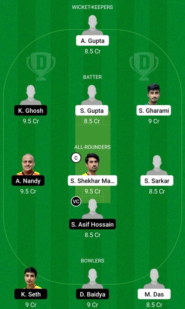 KW vs KC Dream11 Prediction, Fantasy Cricket Tips, Dream11 Team, BYJU'S Bengal T20 2021