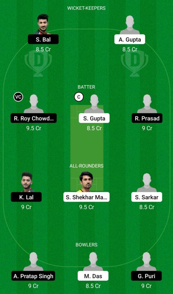 KW vs KH Dream11 Prediction, Fantasy Cricket Tips, Dream11 Team, BYJU'S Bengal T20 2021
