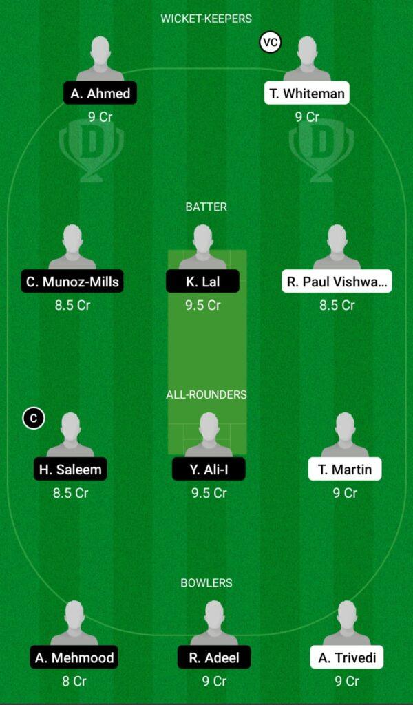 LUX vs SPA Dream11 Prediction, Fantasy Cricket Tips, Dream11 Team, ECC T10 2021