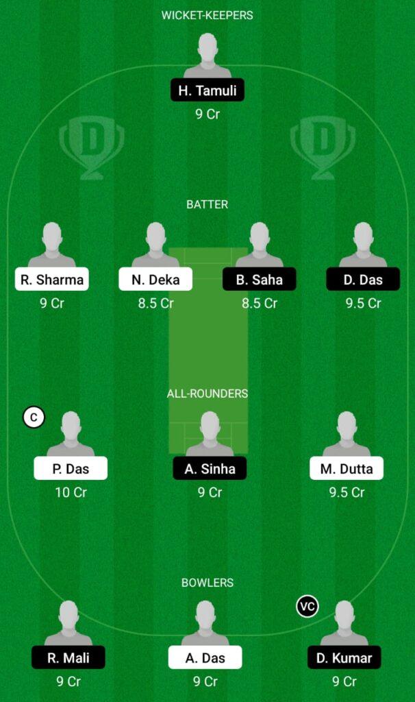 MTI vs KAH Dream11 Prediction, Fantasy Cricket Tips, Dream11 Team, BYJU'S Assam T20 2021
