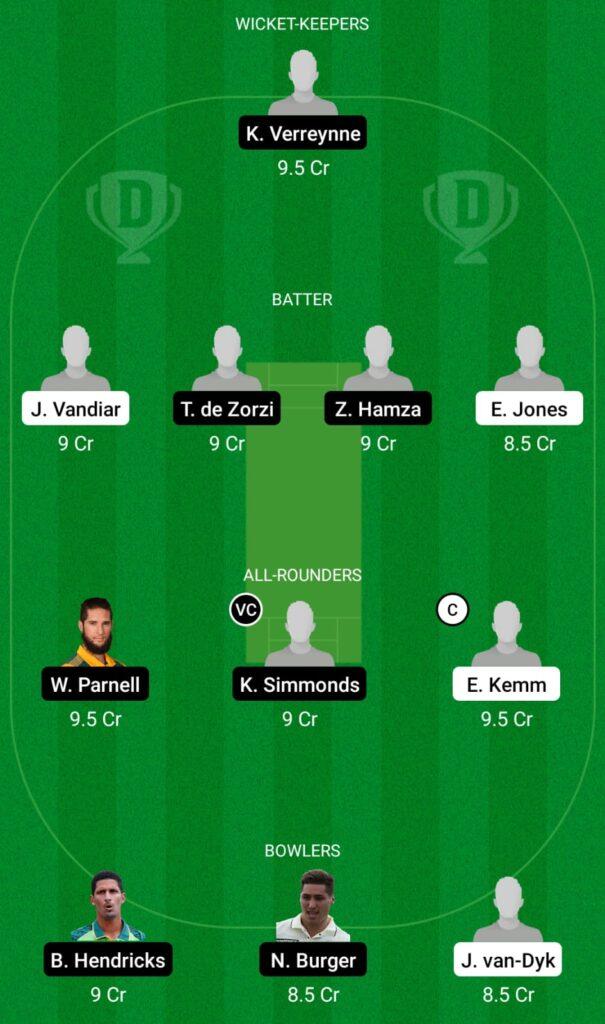 NC vs WEP Dream11 Prediction, Fantasy Cricket Tips, Dream11 Team, CSA Provincial T20 Cup 2021