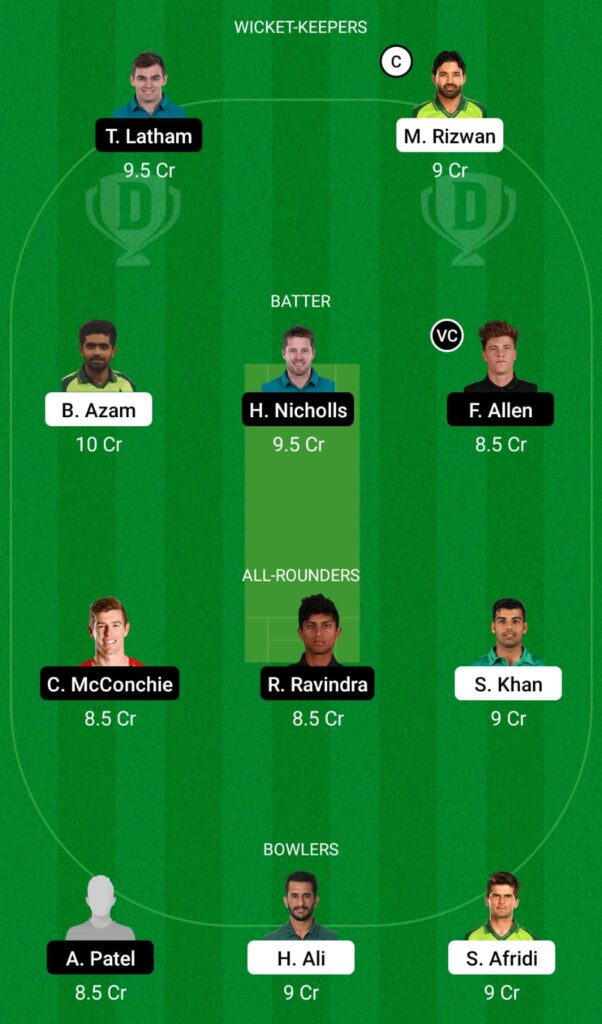 PAK vs NZ Dream11 Prediction, Fantasy Cricket Tips, Dream11 Team, New Zealand Tour of Pakistan 2021