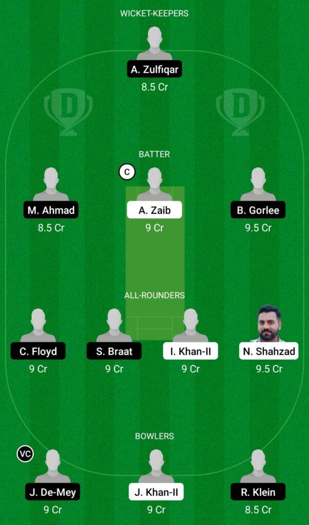 POR vs NED XI Dream11 Prediction, Fantasy Cricket Tips, Dream11 Team, ECC T10 2021