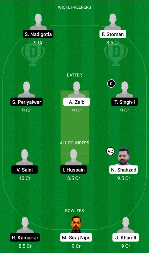 POR vs ROM Dream11 Prediction, Fantasy Cricket Tips, Dream11 Team, ECC T10 2021