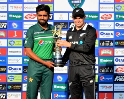 Pakistan vs New Zealand 2021