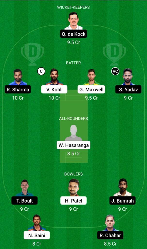 IPL 2021- RCB vs MI Dream11 Prediction, Fantasy Cricket Tips, Dream11 Team