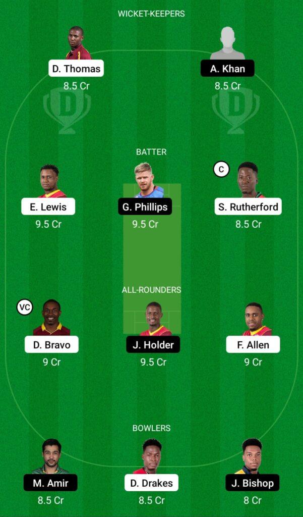 CPL 2021- SKN vs BR Dream11 Prediction, Fantasy Cricket Tips, Dream11 Team