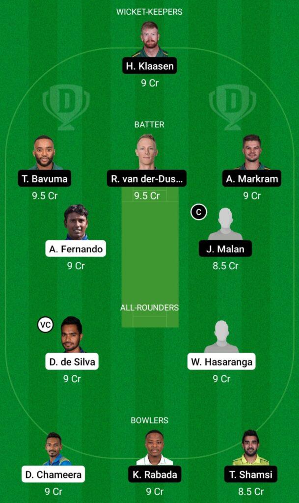 SL vs SA Dream11 Prediction, Fantasy Cricket Tips, Dream 11 Team, South Africa Tour of Sri Lanka 2021