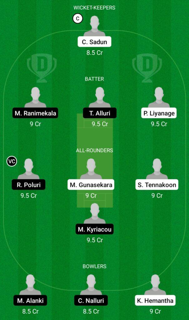 SLL vs CES Dream11 Prediction, Fantasy Cricket Tips, Dream11 Team, ECS T10 Cyprus 2021