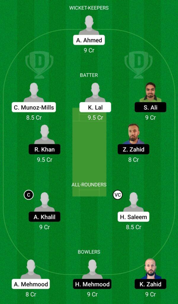 SPA vs SWE Dream11 Prediction, Fantasy Cricket Tips, Dream11 Team, ECC T10 2021