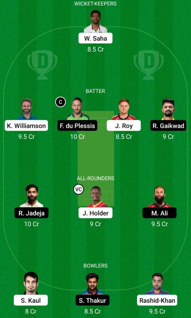 IPL 2021- SRH vs CSK Dream11 Prediction, Fantasy Cricket Tips, Dream11 Team