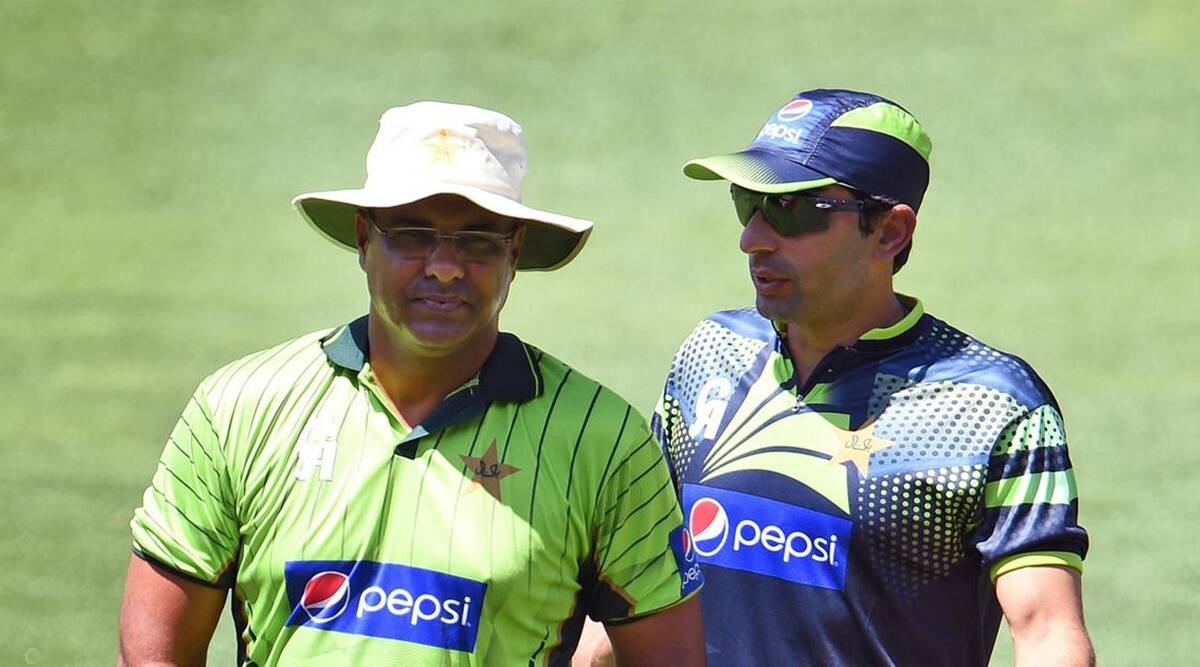 Pakistan coaching unit - comprising Misbah-ul-Haq, Waqar Younis (AFP)