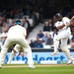 Rohit Sharma scored his maiden overseas Test hundred on Day 3 at The Oval. Pic: Getty Images