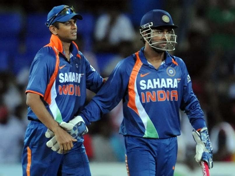 Rahul Dravid said that MS Dhoni will be remembered as a successful captain.© AFP