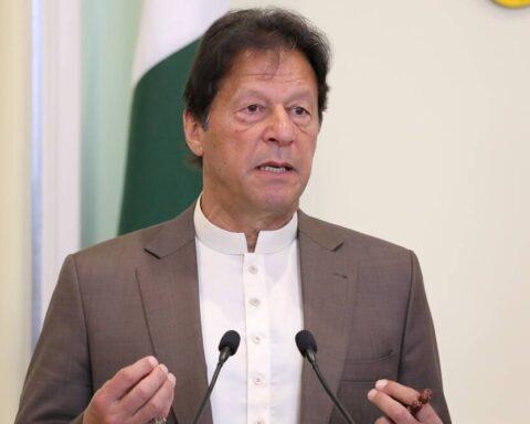 Pakistan Prime Minister Imran Khan. (File)
