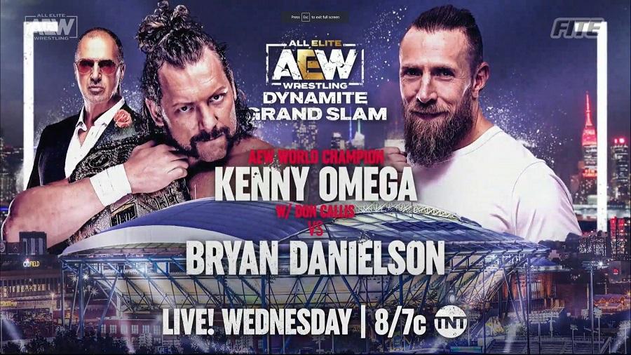 AEW Grand Slam 2021: Daniel Bryan Vs. Kenny Omega Confirmed; Full Lineup 86