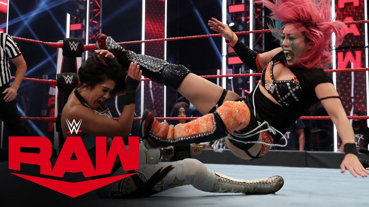 WWE Raw- Asuka