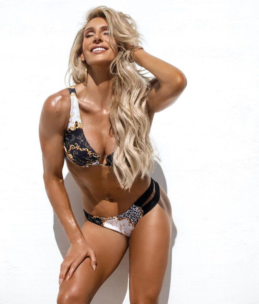 WWE Star Charlotte Flair Posts Her Latest Bikini Photo From Miami Beach 39