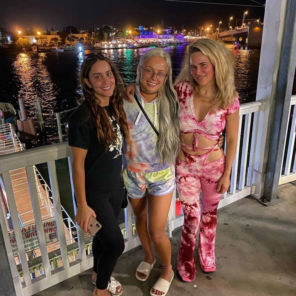 Lana Shares Beach Bikini Photos With WWE Stars Aliyah And Liv Morgan 5