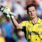 In this file photo, Steve Smith waves his bat after smashing a century against India in the World Cup semi-final at the Sydney Cricket Ground on March 26, 2015. —Reuters/File