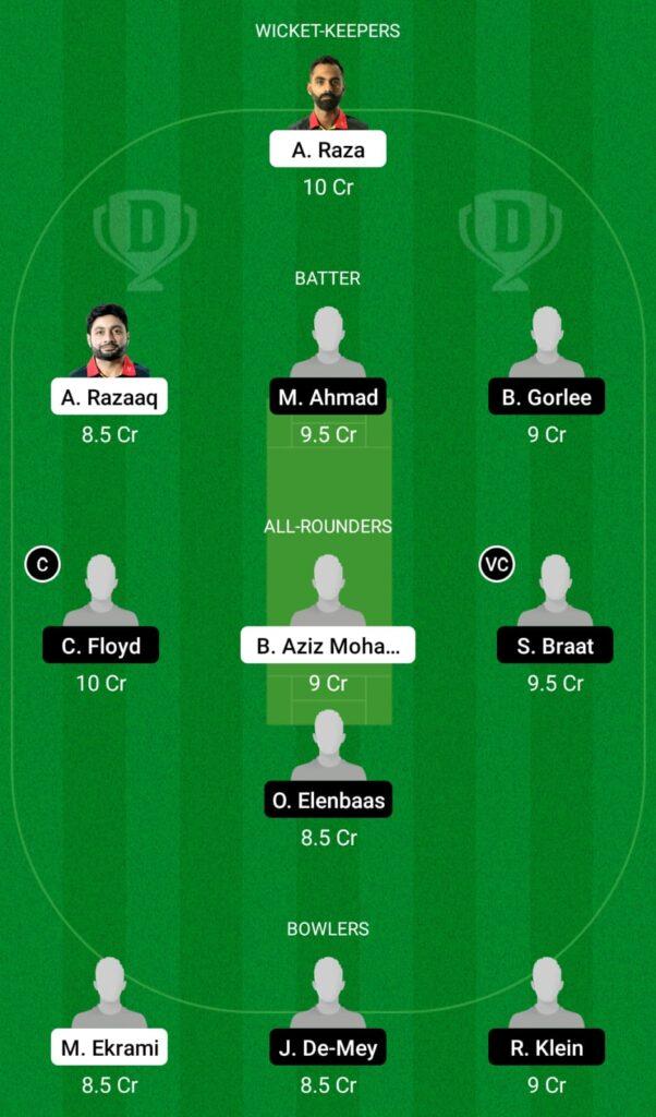BEL vs NED XI Dream11 Prediction, Fantasy Cricket Tips, Dream11 Team, ECC T10 2021