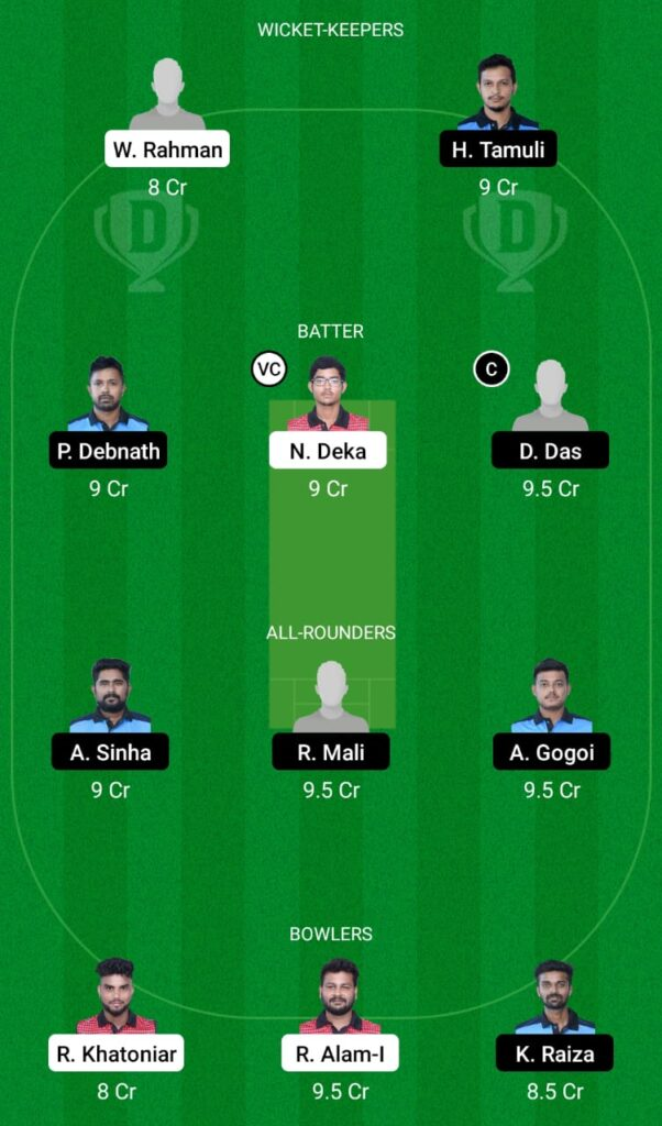BHB vs KAH Dream11 Prediction, Fantasy Cricket Tips, Dream11 Team, BYJU'S Assam T20 2021