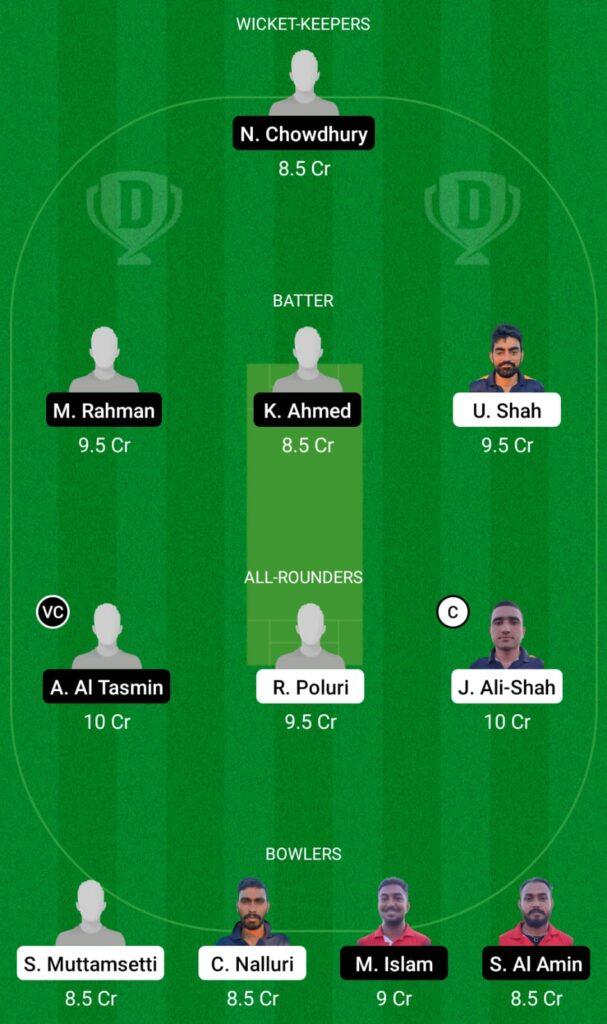 CES vs NFCC Dream11 Prediction, Fantasy Cricket Tips, Dream11 Team, ECS T10 Cyprus 2021