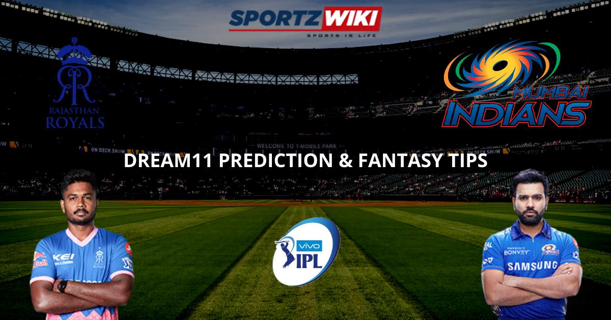 RR vs MI Dream11 Prediction, Fantasy Cricket Tips, Dream11 Team- IPL 2021