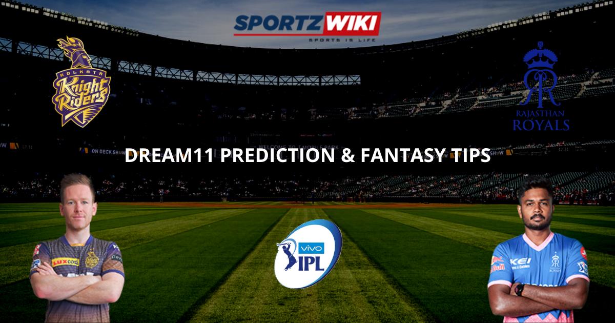 KKR vs RR Dream11 Prediction, Fantasy Cricket Tips, Dream11 Team- IPL 2021