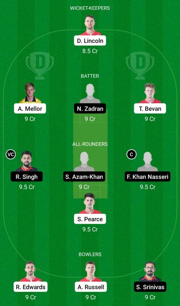 ENG-XI vs GER Dream11 Prediction, Fantasy Cricket Tips, Dream11 Team, ECC T10 2021