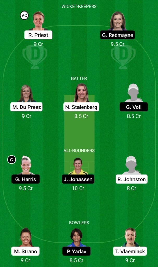 HB-W vs BH-W Dream11 Prediction, Fantasy Cricket Tips, Dream11 Team, Women's Big Bash League, 2021