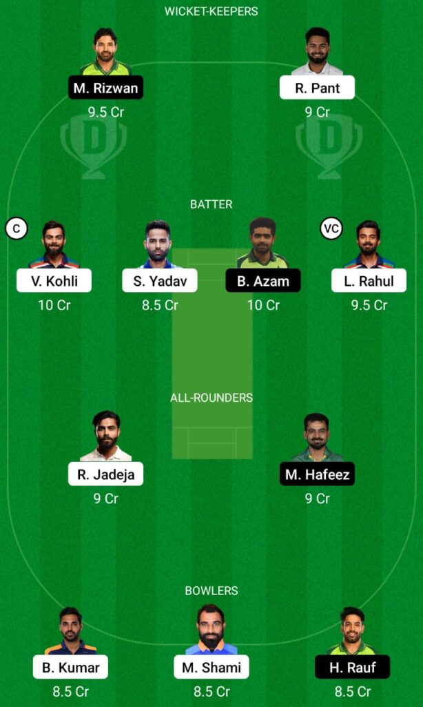 IND vs PAK Dream11 Prediction, Fantasy Cricket Tips, Dream11 Team, ICC T20 World Cup, 2021