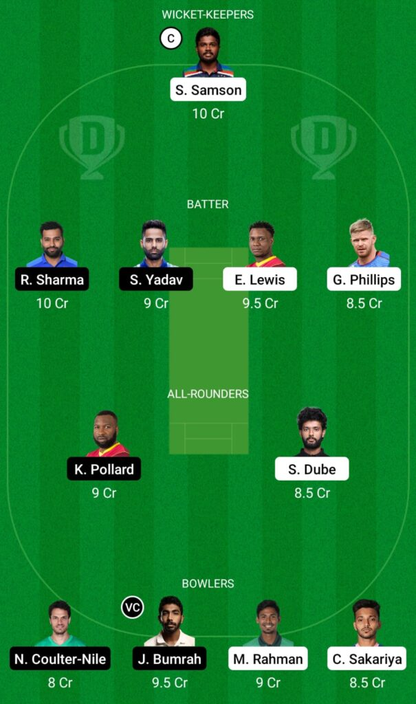 IPL 2021- RR vs MI Dream11 Prediction, Fantasy Cricket Tips, Dream11 Team