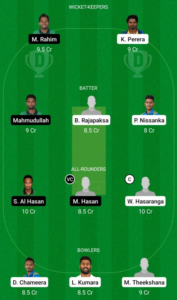 SL vs BAN Dream11 Prediction, Fantasy Cricket Tips, Dream11 Team, ICC T20 World Cup, 2021