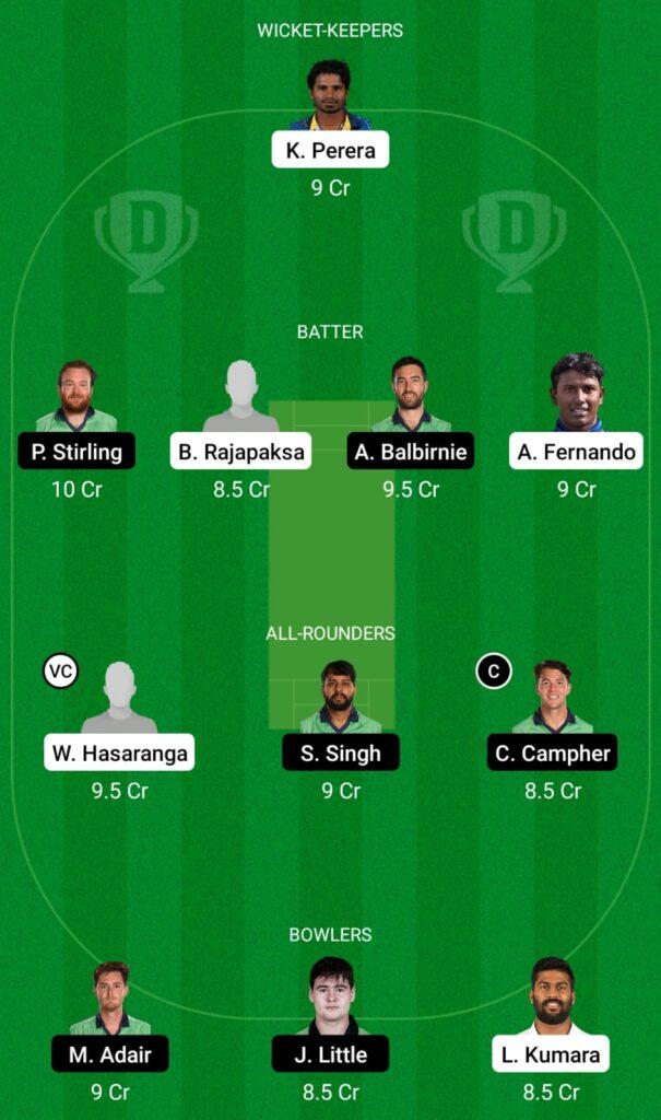 SL vs IRE Dream11 Prediction, Fantasy Cricket Tips, Dream11 Team, ICC T20 World Cup, 2021