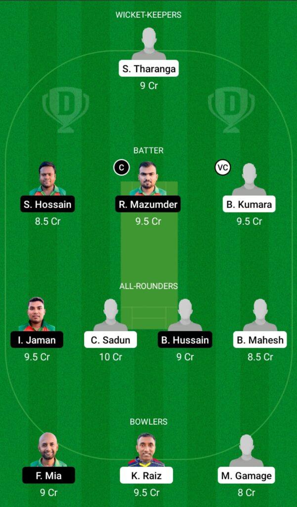 SLL vs NCT Dream11 Prediction, Fantasy Cricket Tips, Dream11 Team, ECS T10 Cyprus 2021