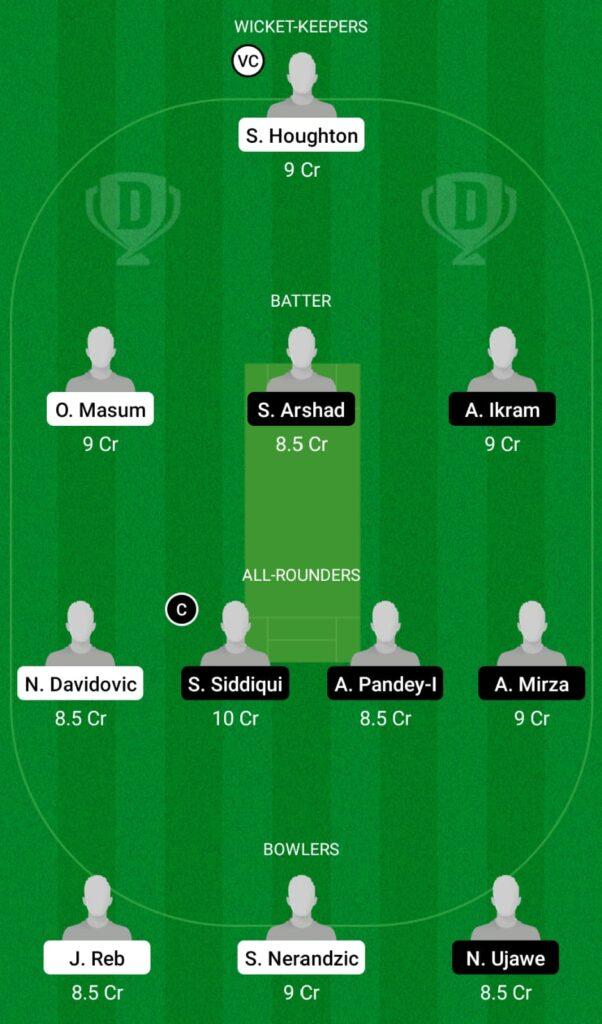 SOS vs LJU Dream11 Prediction, Fantasy Cricket Tips, Dream11 Team, ECS T10 Croatia 2021