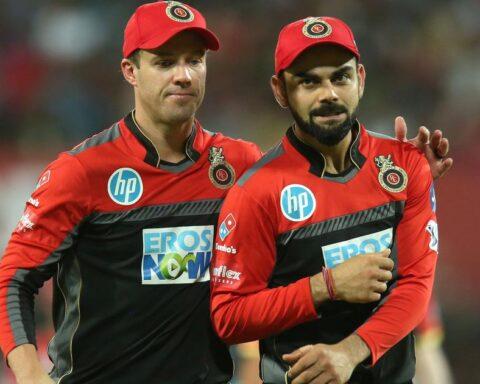 AB de Villiers and Virat Kohli (Image Credit: Twitter)