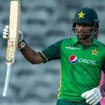 akhar Zaman becomes first Pakistan batsman to score double century in ODI cricket | Photo Credit: AP